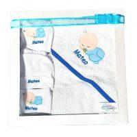 Set toalla + 4 prendas