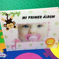 Albúm diario para bebé niña